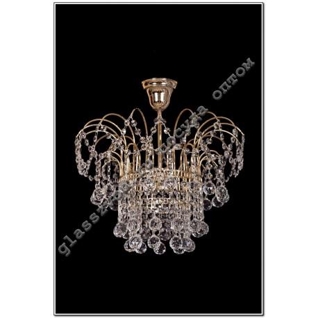"""Luminaire Crystal Acacia """"№4, 1 lamp"""