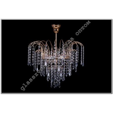 Luminaire Acacia Crystal No. 3, 3 lamps