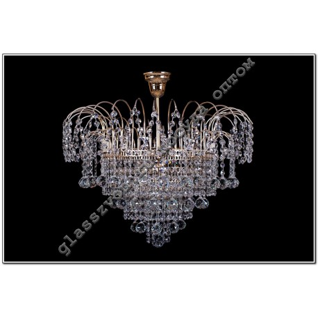 Luminaire Acacia Crystal No. 3, 4 lamps