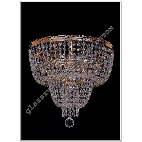 Crystal Angelica lamp 3 lamps Doll