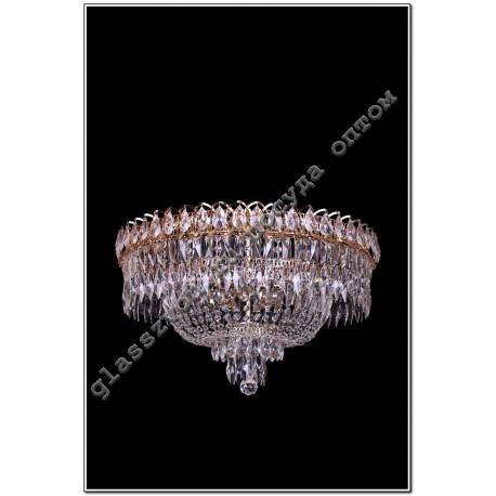 "Lamp ""Crystal Falls"" diam. 450 mm PEN with mirror"