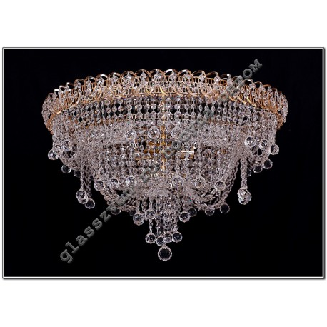"Lamp ""Crystal Waterfall"" Diam. 600 mm SOFIA"