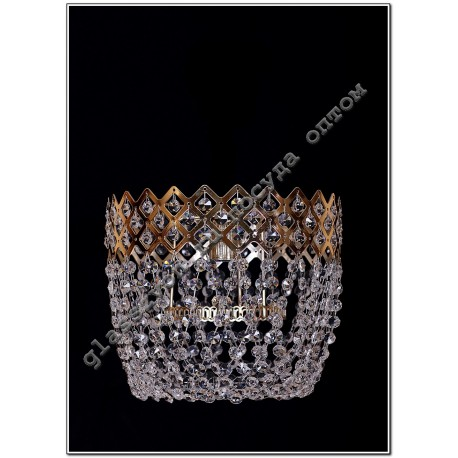 """Lamp"""" Crown """"№4 1 lamp with mirror"""