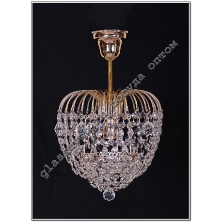 "Lamp ""Crystal Malinka"" 1 lamp stone ball"