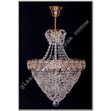 """Lamp """"Crystal Natalie"""" 3 lamps ROSE"""