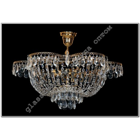 """Lamp"""" Crystal Chamomile """"5 lamps with suspension"""