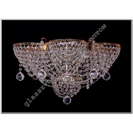 Chandelier 3 lamps ALENKA with mirror