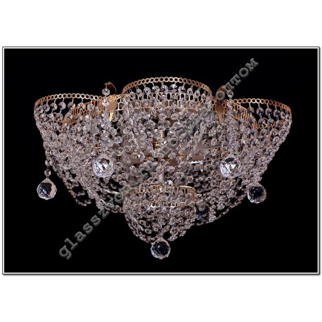 """Lamp """"Crystal Chamomile"""" 5 lamps ALENKA with zeros feces"""