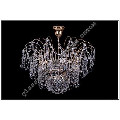 Luminaire Acacia crystal number 2, 3 lamps