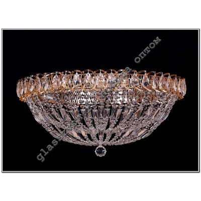 Luminaire Crystal Cupola-2 diam. 400 mm with a mirror