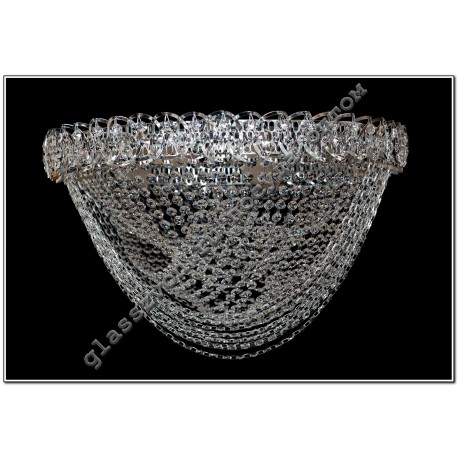 Crystal Whirlpool lamp diameter 400 mm FANTASY