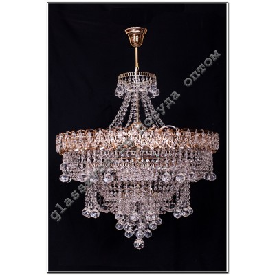 Crystal Waterfall luminaire diam. 450 mm SOFIA WITH SUSPENSION ball-30