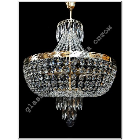 """Lamp """"Jasmine"""" 5 lamps with suspension"""