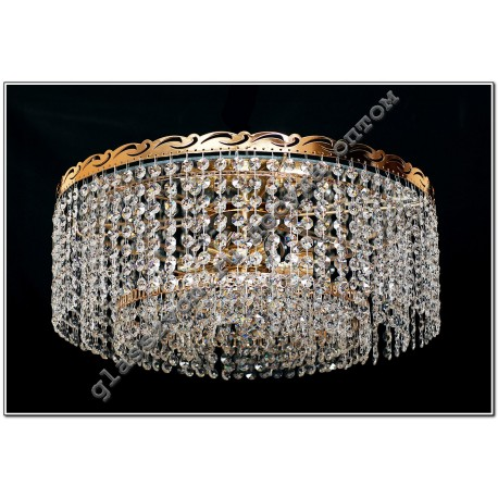 Crystal Chandelier Lamp 5 lamps with mirror obtikon