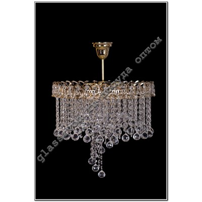 Crystal Chandelier 5 lights petal No. 3