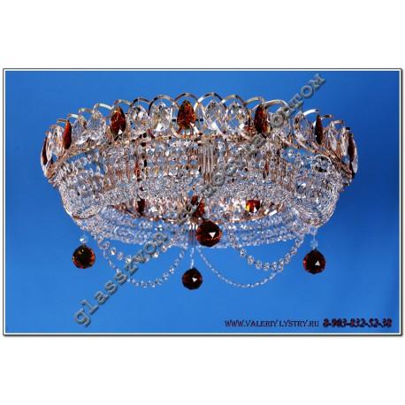 """Lamp """"Crystal Ring"""" Diam. 450 mm Pancake"""