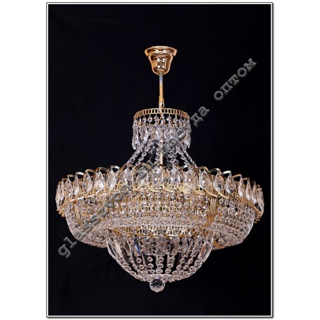 """Lamp """"Crystal Ring"""" Diam. 500 mm Dome"""