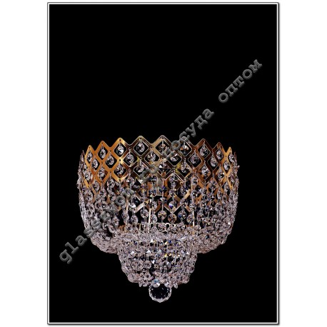 """Lamp"""" Crown """"№2 1 lamp with mirror"""