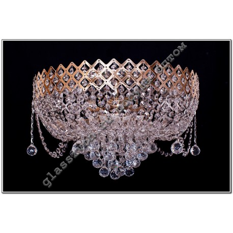 """Lamp"""" Crown """"№1, 5 lamps with a mirror"""