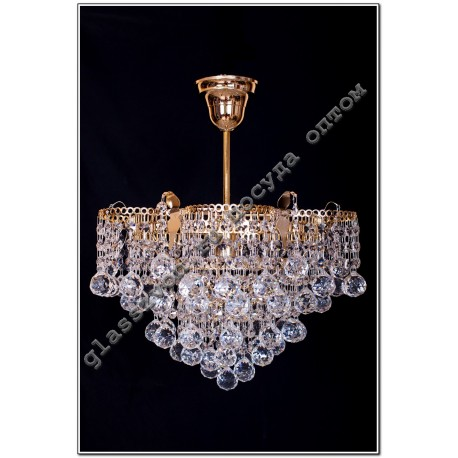 """Lamp """"Crown"""" №1 1 lamp suspension"""