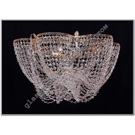 Crystal Chamomile Lamp 1 lamp with VASILISSA mirror