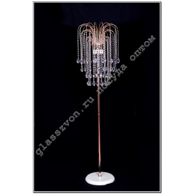 Floor lamp # 4 medallion