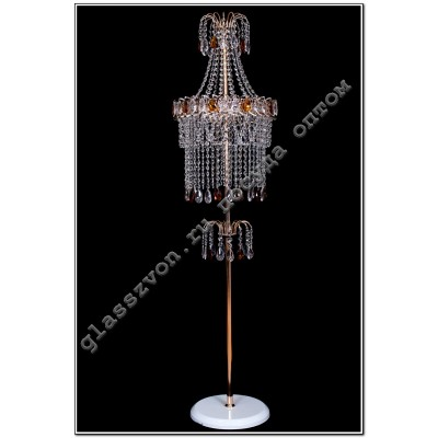 Floor lamp Katerina stone color