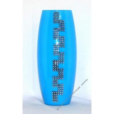 Ваза 43966 Лира голубая