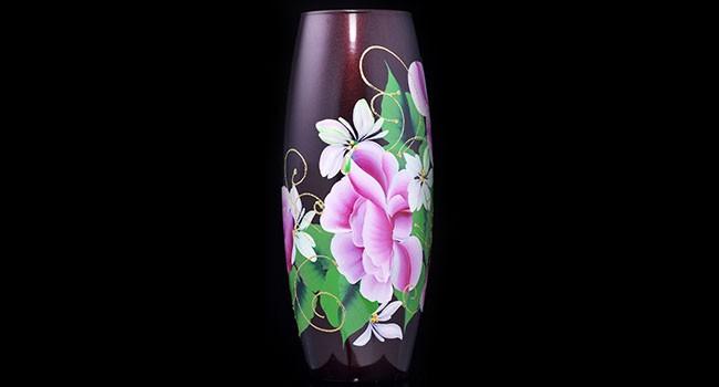 Купить стеклянные вазы оптом от производителя.